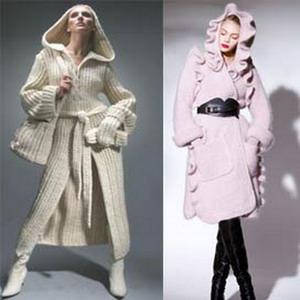 вязанные пальто 2019 фото и тренды на модное вязанное пальто весной