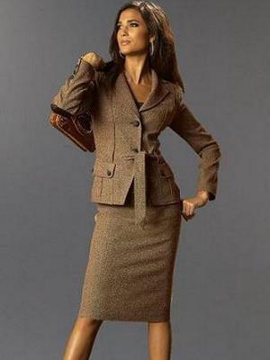 Купить шерстяной костюм женский