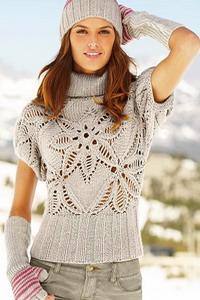 Модели вязяных свитеров 2014 бесплатно | вязаные