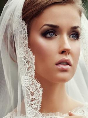 Макияж невесты на фото