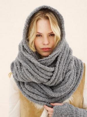 красивые вязаные шарфы