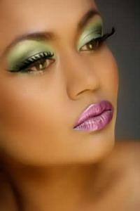 Стрелки свадебный макияж фото для