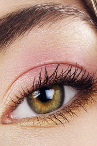 Tages Augen Make Up