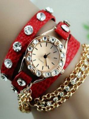 Браслеты на женские часы своими руками