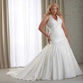 Платья свадебные 2016 для полных