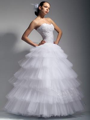 Очень красивые бальные платья фото