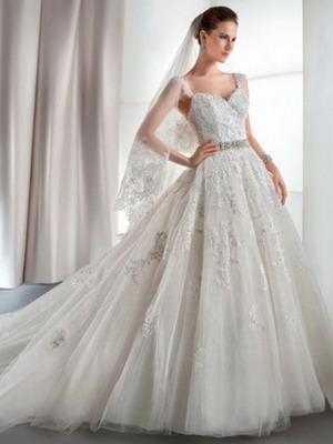 62089044de8 Самые пышные и красивые свадебные платья 2019  фото и тренды