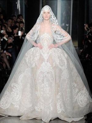 Свадебные платья классика
