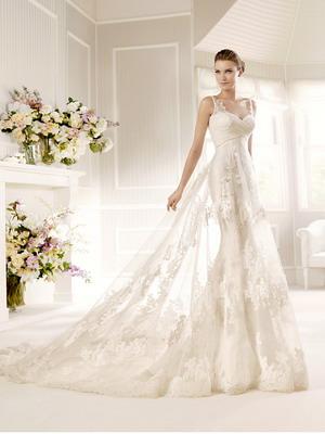 Красивые свадебные платья 2017 не пышные