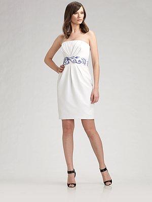 Скачать белые платье на выпускной