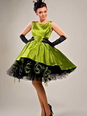 Фото праздничных коротких платьев