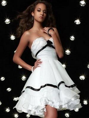 Стильное платье для выпускницы фото