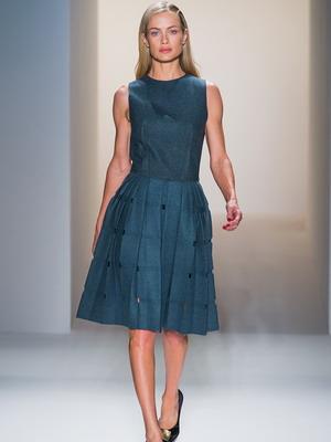 модели осенних платьев фото