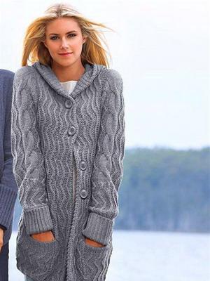 модные вязаные кофты в 2019 году фото и мода на зиму для женских