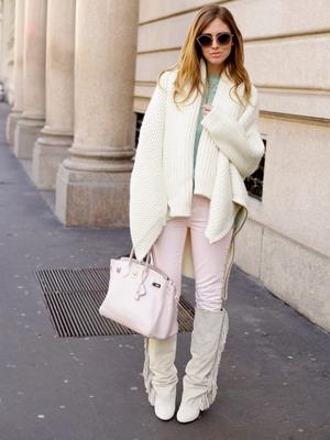 На модные вязаные кофты 2015 для женщин