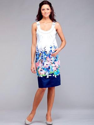 Модели летнего фасона платья