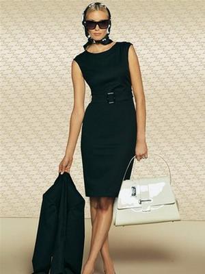 Платья делового стиля | Стиль