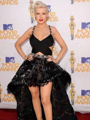 Стиль модный рок в платьях