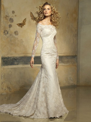 Свадебные платья французском стиле