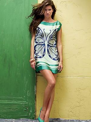 Фасоны простых летних платьев