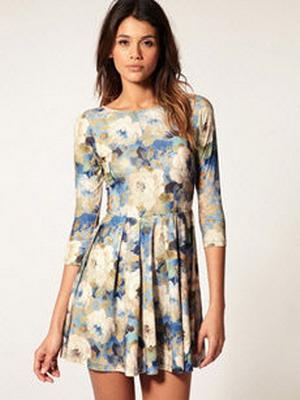 Красивые летние платья смотреть