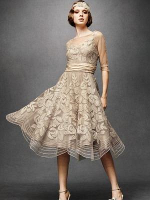 Английская длина платья
