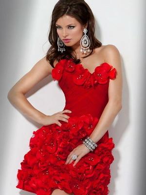 Свадебные короткие платья-2014: фото моделей и модные тренды на