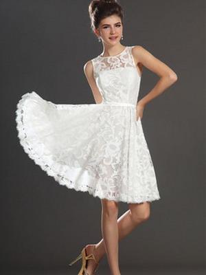 Платья пышные короткие до колен