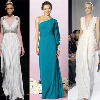 Греческие платья модели и