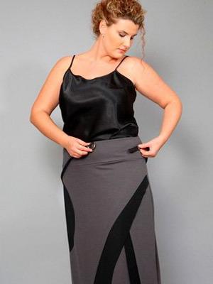 Юбки 2017 года мода для полных женщин