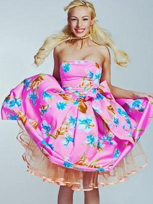 Женские платья моды 60 х годов