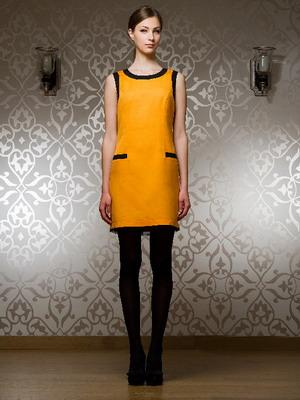 Модное платье в стиле 60-х