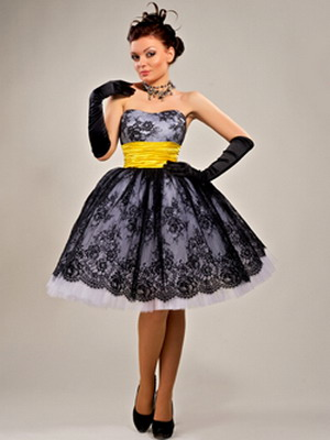 Коллекция платьев 60 годов