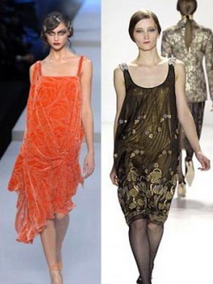 Платья в стиле 30-х годов  фото вечерних и повседневных моделей ... b36ce721308