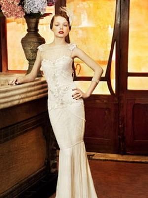 Платье вечернее в стиле 30-х