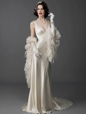 Свадебные платья в стиле ретро: фото, стиль разных эпох.
