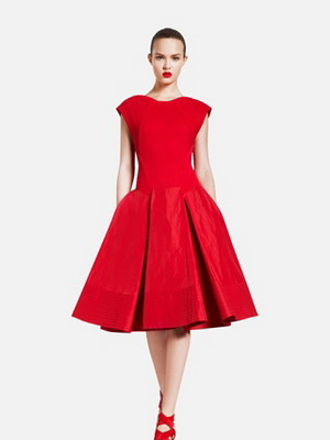 Модели вечерних платьев 50 годов