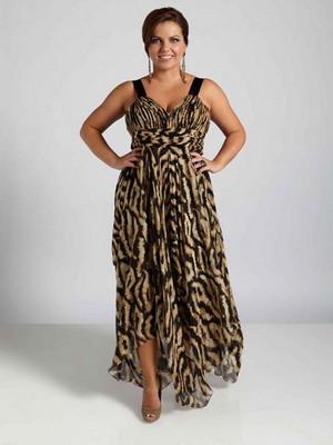 Модные в 2015 году платья для полных