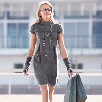 Платье из трикотажа бренд