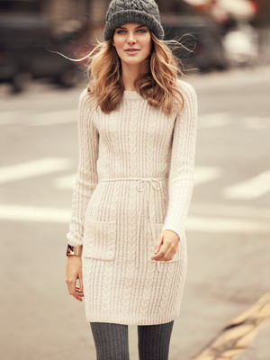 Платья ручной вязки-фото