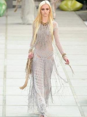 f7492fdfcfc ... которая позволяет использовать любые декоративные приемы. В этом  качестве особенно стильно выглядят объемные цветочные мотивы. Летнее вязаное  платье ...