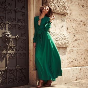 Модели зелёных платьев фото