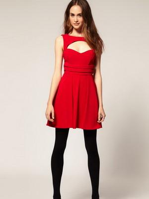 c0bbb1bf3e6 С чем надеть красное платье в 2019 году