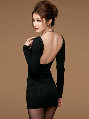 Модели платьев фото облегающее