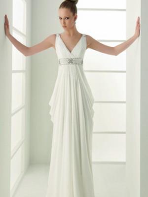 Венчальные платья в греческом стиле