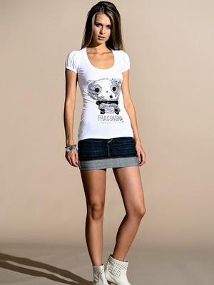 Красивые джинсовые юбки фото