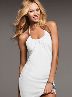 Модели белых платьев для лета