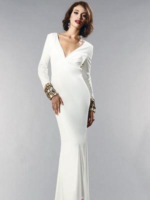 Вечернее платье длинное светлое