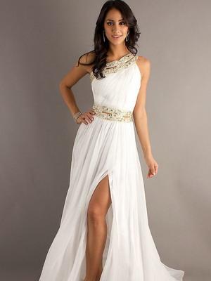 Красивые белые платья не длинные
