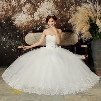 Шикарное свадебное платье, фото